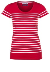 Little Marcel Basic Tshirt Rouge Blanc Red