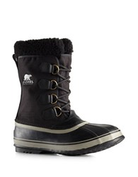 Sorel 1964 Pac Sherpa Snow Cuff Winter Boots Black