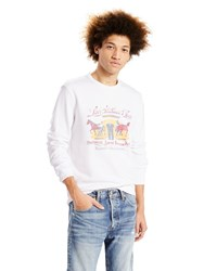 Levi's Graphic Crew Neck Sweatshirt White