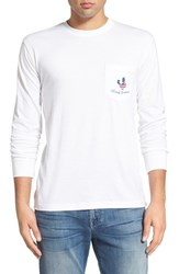 Men's Rowdy Gentleman 'Main Event' Graphic Long Sleeve Pocket Crewneck T Shirt