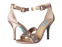 Blue By Betsey Johnson Gina Champagne Women's 1 2 Inch Heel Shoes Gold