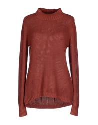 Vero Moda Knitwear Turtlenecks Women Brick Red