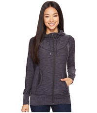 Prana Ember Zip Up Hoodie Charcoal Women's Sweatshirt Gray