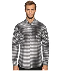 Dsquared Relax Dan Babewire Shirt Black White Men's Clothing