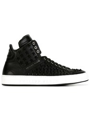 Philipp Plein 'Bobby D' Hi Top Sneakers Black