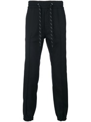 Marc Jacobs Jogger Sweatpants Cotton Polyester Virgin Wool Black