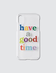 Have A Good Time Colorful Logo Iphone Case X Xs