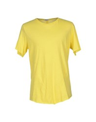 Imperial Star Imperial Topwear T Shirts Men Yellow