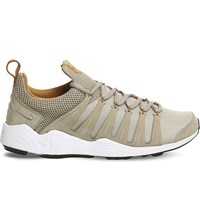 Nike Zoom Spirimic Leather And Mesh Trainers Bamboo White Gum Lab