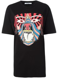Givenchy Tribal Print T Shirt Black