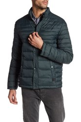 Kenneth Cole Packable Down Jacket Blue