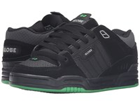 Globe Fusion Black Black Green Men's Skate Shoes