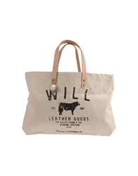 Will Leather Goods Large Fabric Bags