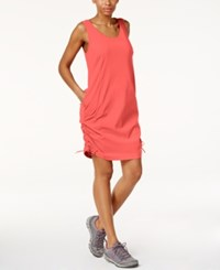 Columbia Anytime Casual Omni Shield Dress Red Camellia