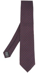 Gieves And Hawkes Jacquard Tie Blue