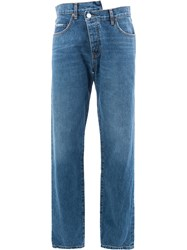 Monse Straight Leg Jeans Blue