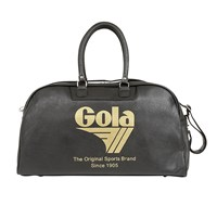 Gola Reynolds 72 Holdall Bag Black Gold Crackle