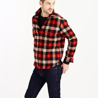 J.Crew Slim Shirt Jacket In Essential Check