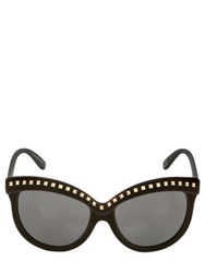 Italia Independent I Top Velvet Sunglasses With Studs