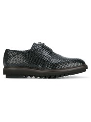 Dolce And Gabbana Woven Shoes Black