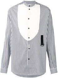 J.W.Anderson Striped Popeline Shirt White