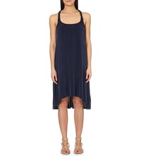 Heidi Klein Lavendou Plait Detail Dress Blue