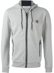 Bikkembergs Zipped Sport Jacket Grey