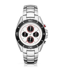 Michael Kors Jetmaster Silver Tone Watch