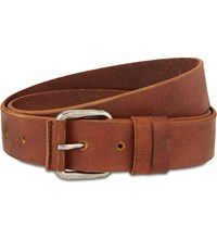 Dries Van Noten Leather Belt Camel