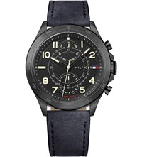 Tommy Hilfiger 1791345 Hudson Black Ion Plated Steel Watch