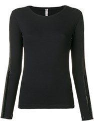 No Ka' Oi Longsleeved Top Black