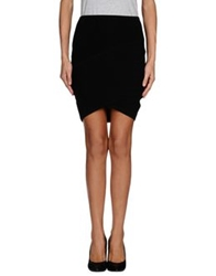 Surface To Air Mini Skirts Black
