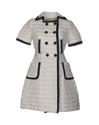 Moncler Coats And Jackets Down Jackets Women White
