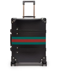 Gucci X Globe Trotter Web Stripe Carry Case Black
