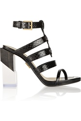 Maiyet Elaphe Sandals Black