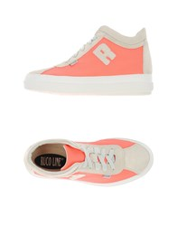 Ruco Line Footwear High Tops And Trainers Women Fuchsia