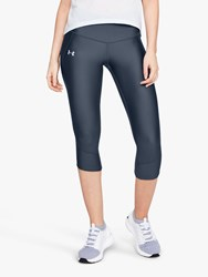 Under Armour Fly Fast Capri Tights Grey Reflective