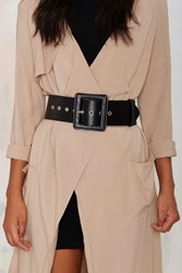 Nasty Gal Fair And Square Belt