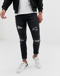 Loyalty And Faith Skinny Fit Jeans In Washed Black Washed Black