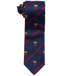 Polo Ralph Lauren Silk Tie Navy Red