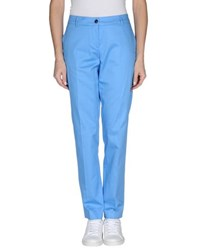 Fabrizio Lenzi Trousers Casual Trousers Women Azure