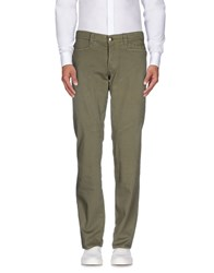 9.2 By Carlo Chionna Trousers Casual Trousers Men Military Green