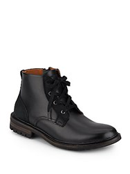 Saks Fifth Avenue Darrell Leather Boots Black