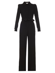 Goat Bijoux Wool Jumpsuit Black