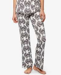 A Pea In The Pod Maternity Ruched Pajama Pants Damask Floral
