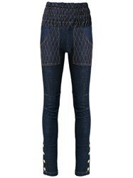 Andrea Bogosian High Waisted Jeans Blue