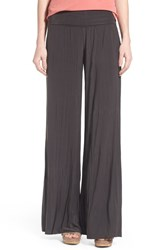 Women's Nic Zoe 'Feel Good' Foldover Waist Textured Knit Pants