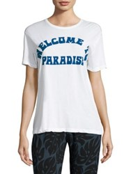 Mikoh Welcome To Paradise Tee Foam