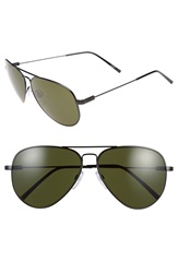 Electric Eyewear 'Av1 Xl' 62Mm Aviator Sunglasses Black Grey