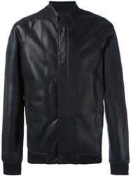 Emporio Armani Zip Up Jacket Black